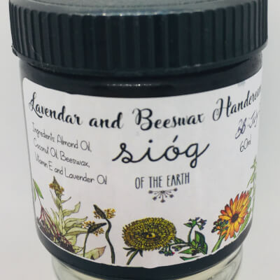 Sióg Beeswax And Lavender Hand Cream