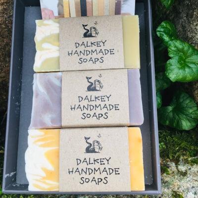 Handmade 3 Irish Soap In Gift Box