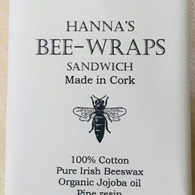 Hannah'S Beeswax Sandwich Wraps ( Bird Print)