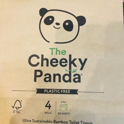 Cheeky Panda 4 Toilet Rolls
