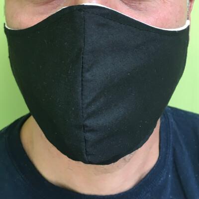 Adult Face Masks Black