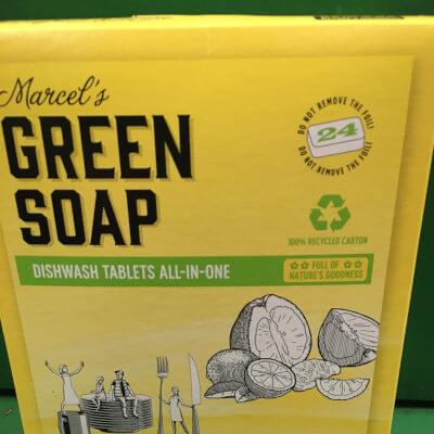 Marcel'S Green Soap Dishwashing Tablets