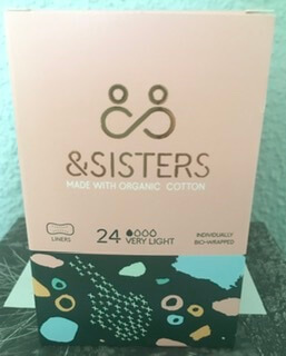 & Sisters Organic Cotton Liner Pads