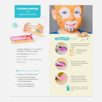 Organic Face Painting Kit Princess And Unicorn