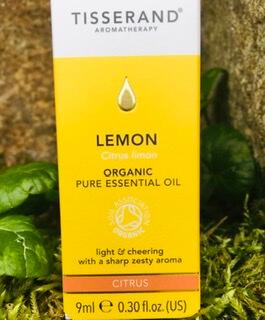 Organic Tisserand Lemon Essential Oil
