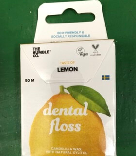 Natural Dental Floss-Lemon