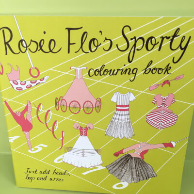 Rosie Flo'S Sporty Colouring Book