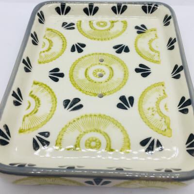 Ceramic Soap Dish Kiwi
