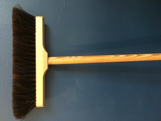 Natural Bristle Sweeping Brush