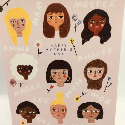 Mother'S Day Language Card