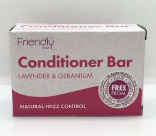 Lavender And Geranium Frizz Control Conditioner Bar