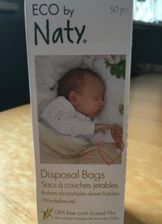 Eco Disposable Nappy Bags