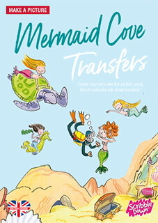Scribble Down  Transfer Mermaid Cove Book