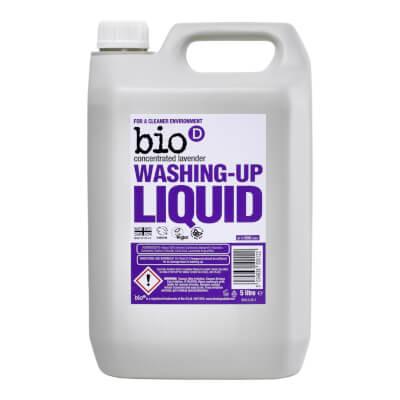 Bio D 5 Litre Lavender Washing Up Liquid