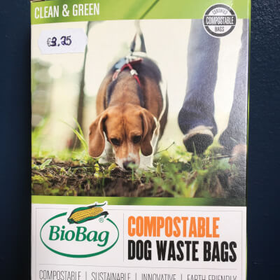 Biobag Compostable Dog Waste Bags