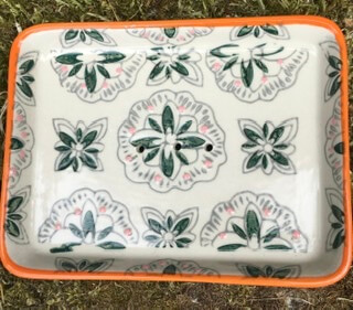 G Handmade Ceramic Soap Dish