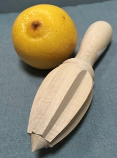 Wooden Lemon Reamer