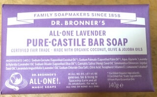 Dr Bronner'S Pure Castile Soap Bar