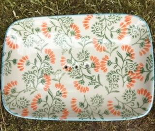 B Handmade Ceramic Soap Dish