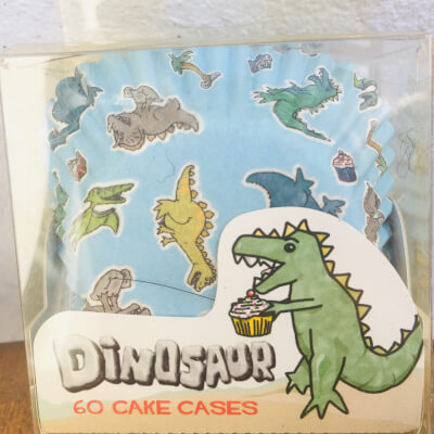 Dinosaur Cup Cake Cases