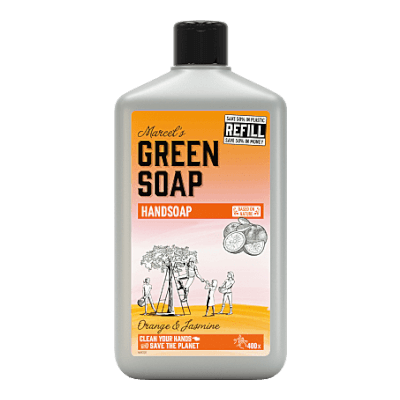 Marcels Green Soap Orange & Jasmine Refill Hand Soap