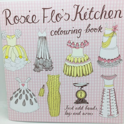 Rosie Flo'S Colouring Kitchen Book