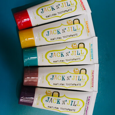 Jack And Jill Natural Kids Toothpaste