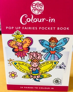 Color In Pop Fairies Pocket Book