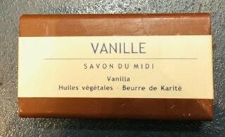 Savon Du Midi Vanilla Soap