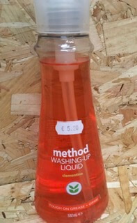 Method Clementine Washing Up Liquid