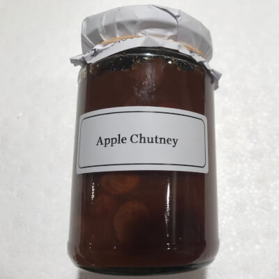Apple Chutney.