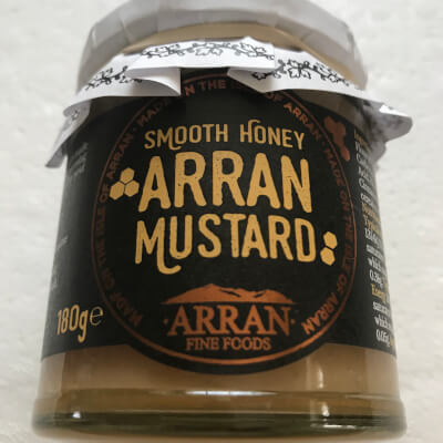 Arran Honey Mustard - 170G.