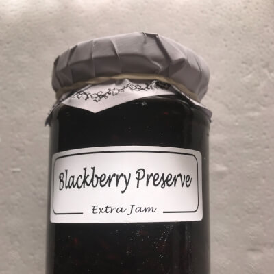 Blackberry Preserve.