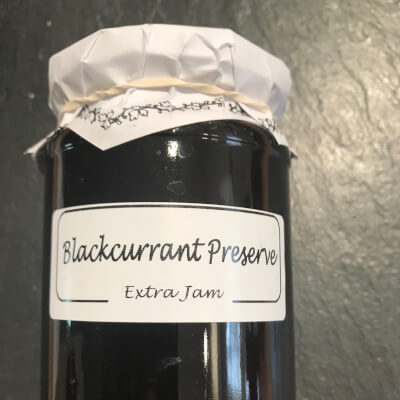 Blackcurrant Preserve.