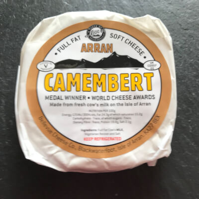 Arran Camembert- Award Winning