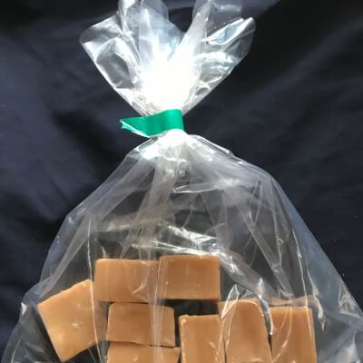 Hand-Made Vanilla Fudge.