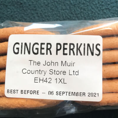 Ginger Perkin Biscuits