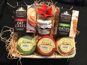 Buff Oblong Hamper