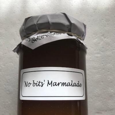 """""""No Bits"""" Marmalade."""