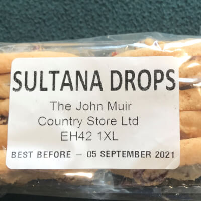 Sultana Drop Biscuits