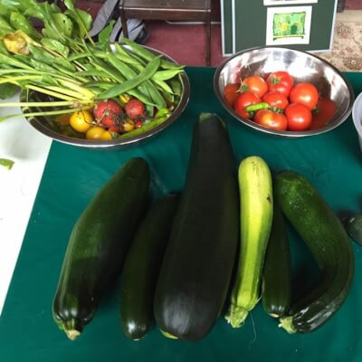 Yellow & Green Courgettes