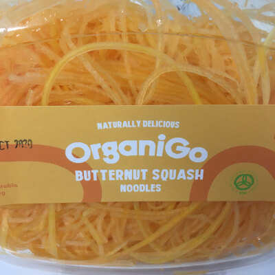 Organigo Organic Butternut Squash Noodles