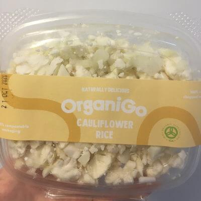 Organigo Organic Cauliflower Florets