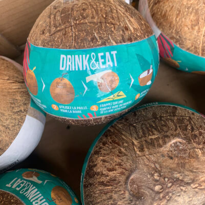 Organic Coconut Water In Coconut