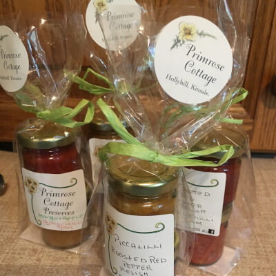 Taster Packs...Roasted Red Pepper Relish+Raspberry Jam