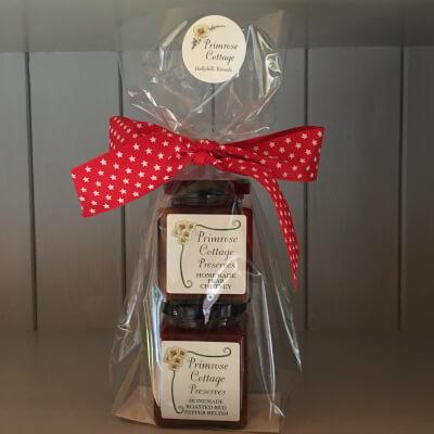 Gift Pack, 2 Full Size Jars, Pearchutney &Roastedredpepper Relish