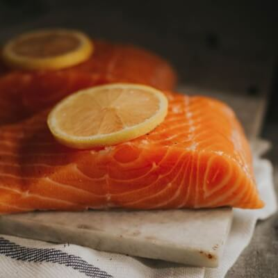 2 X Loch Duart Salmon Fillet Portions     200 - 250G Per Portion