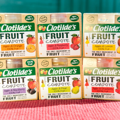 Selection Of 6 Fruit Compotes (6X130g)