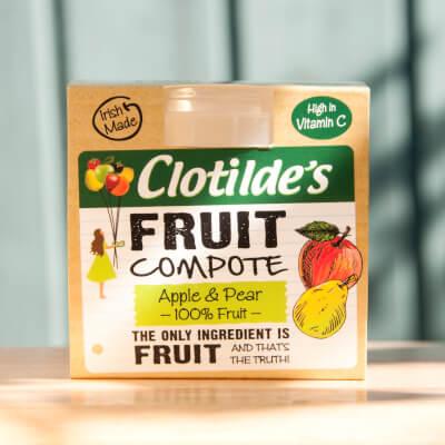 Clotilde's Apple & Pear Compote. 130G