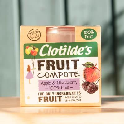 Clotilde's Apple & Blackberry Compote. 130G